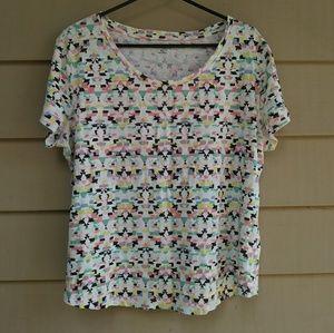 Colorful cotton t shirt Relativity XL